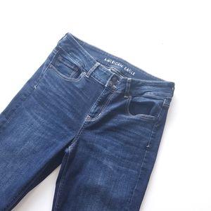 American Eagle artist flare jeans, 10 long
